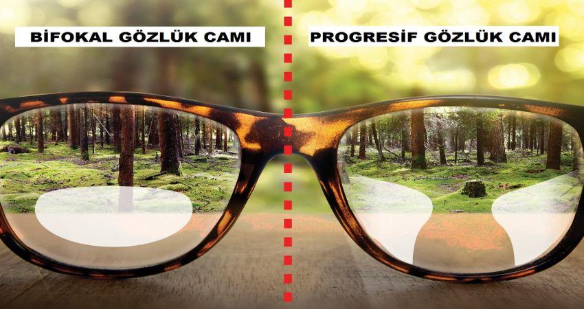 progresif gözlük